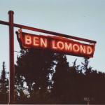 Ben Lomond neon sign restored