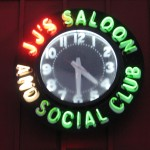 JJ's neon clock