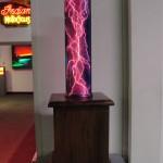 Purple crackle tube