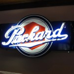 Packard neon sign restored.