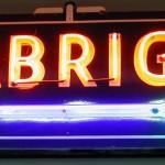 Seabright neon sign restored.